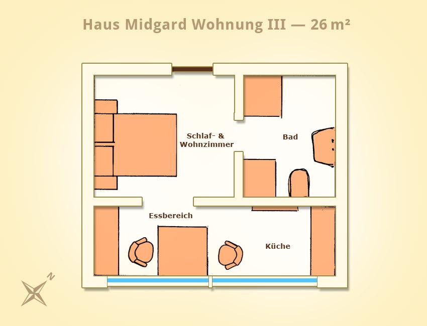 ferienwohnung iii bellvedere ferienh user und wohnungen. Black Bedroom Furniture Sets. Home Design Ideas